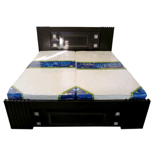 Latest double bed designs with box for Latest model bed design