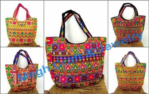 eb36971766 Indian Embroidered Handbag Banjara Shoulder Bag at Rs 1455  piece ...