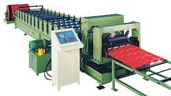 Tile Sheet Roll Forming Machine