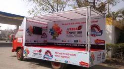 Outdoor Van Promotional Activity