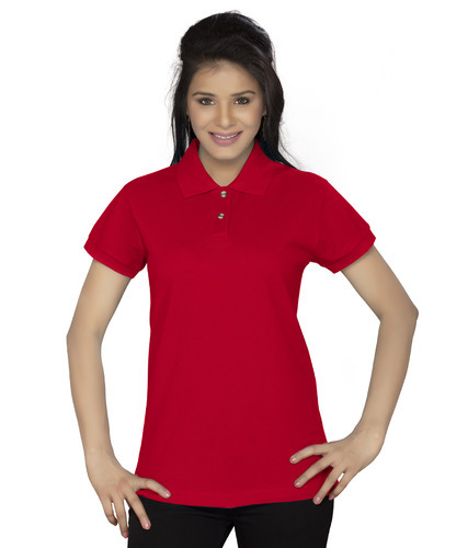 Women  s Polo Red T Shirt 0b0af500c