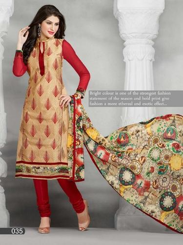 355acf4cd8 Fancy Chanderi Salwar Suits, फैंसी चंदेरी सलवार ...