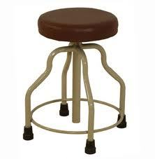 Revolving Stool Cushioned Top