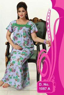ef4f53f060 Womens Cotton Nighty