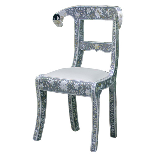 Bone Pearl Mop Inlay Chair
