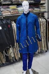 Blue Mens Kurta Pyjamas