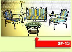 SF13 Wrought Iron Sofa Set