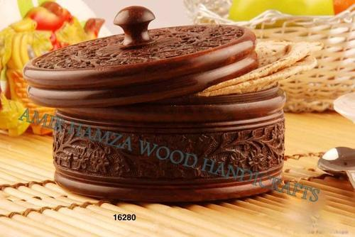 Wooden Carved Box Bamboo And Wooden Handicrafts Amir Hamza Wood