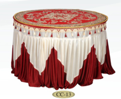 Table Cover With Jhalar