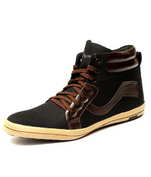 Black Men Canvas Shoe