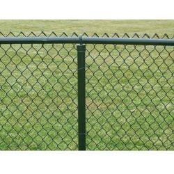 Galvanized Iron Chain Link Garden Fence
