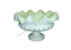 Marble Carved Fruit Bowl