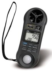 Anemometer, Humidity Light Meter, Thermometer