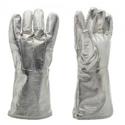 Full Aluminium Fabric Gloves