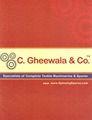 C. Gheewala & Co.