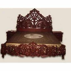 Teak Wood Luxury Bed