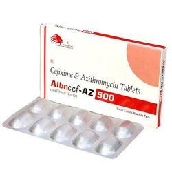 Cefixime & Azitheromycin Tablets