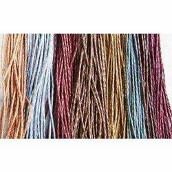 Metallic Brown Leather Cords