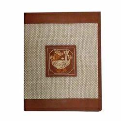 Embroidered Mandana Conference Folder