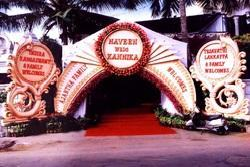 Fiber Gate Decoration