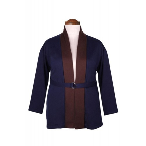 speciale per scarpa prezzo interessante calzature Jackets & Cardigans - Navy & Brown Shawl Collar Jacket ...