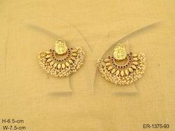 Laxmi  Temple Jewellery Earrings
