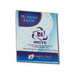 Paper Soap Strips ( IRCTC)