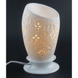 White Floral Electric Diffuser, for EVERYWHERE
