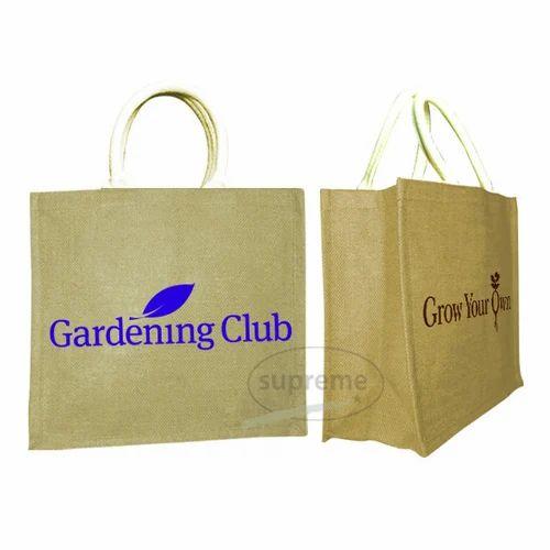 Jute Per Bags With Webbing Handles