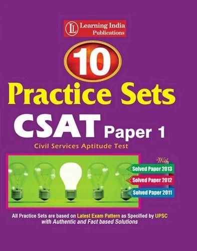 Csat Preparation Books Pdf