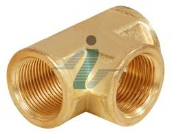 Brass Female Pipe Tee-NPT