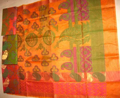 ef327f3c04 Fancy Banarasi Silk Saree, प्योर रेशमी साड़ी ...