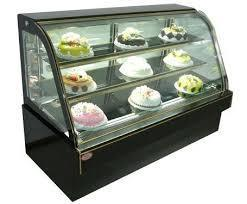Cold Display Counter For Cake