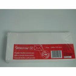 Envelope White Laminated 120Gsm