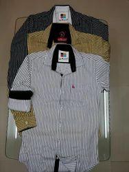 Casual Satin Stripes Shirt
