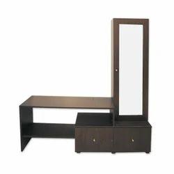 Wood Contemporary L Shape TV Unit for Home