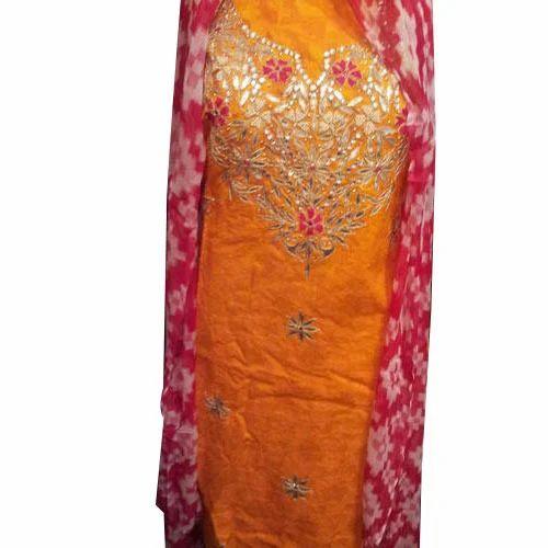 464d95fada Gota Patti Work Suit at Rs 1250 /pieces | Kandivali West | Mumbai ...