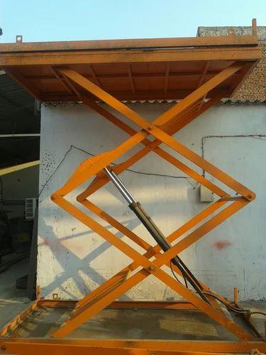 Scissor Lift - Electro Hydro Scissor lift Manufacturer from Ghaziabad