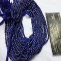 Lapis Lazuli Cut Rondelle Beads