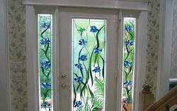 Printed PVC Door Glass Film, .25-1