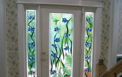 Printed Pvc Door Glass Film 25 1 Rs 40 Square Feet Bhoomi Glass