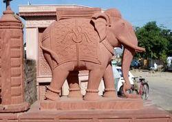 Sandstone Marble Elephant