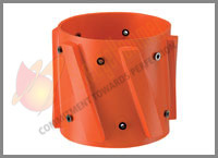 Welded Spiral Vane Solid Rigid Centralizer Fixed