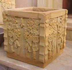 Squire Carved Planter