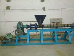 plastic recycling extruder machine