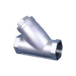 Stainless Steel Screwed Strainer