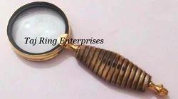Nautical Brass Magnifying Glass