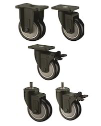 Nylon Fork Polyurethane Caster Wheels