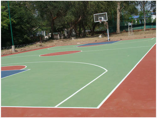 Outdoor Court Flooring Services Outdoor Basketball Court