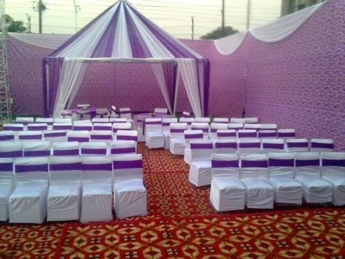 Wedding Tent Sitting Decoration & Birthday party theme - DJ Services Service Provider from Noida